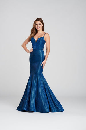 Ellie Wilde EW120109 prom dress images.  Ellie Wilde EW120109 is available in these colors: Dark Teal, Magenta, Aqua, Light Gold, Royal Blue .
