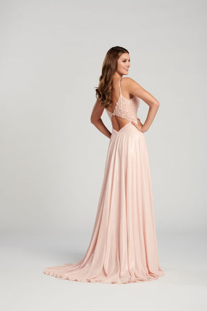 Ellie Wilde EW120139 prom dress images.  Ellie Wilde EW120139 is available in these colors: Blush, Red, Royal Blue, Mint .