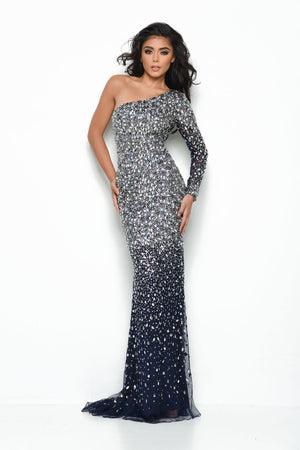 Jasz Couture 7018 prom dress images.  Jasz Couture 7018 is available in these colors: White, Nude, Navy.