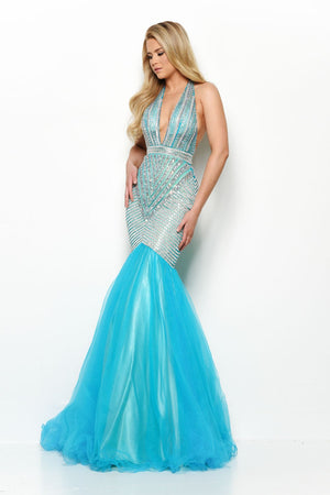 Jasz Couture 7050 prom dress images.  Jasz Couture 7050 is available in these colors: Coral, Nude, Turquoise.