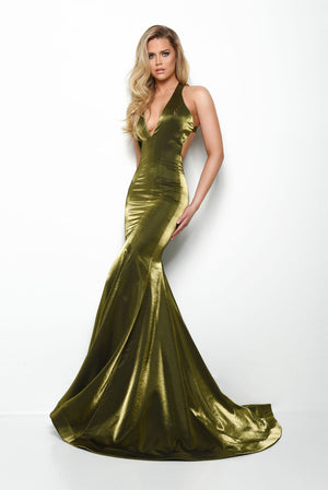 Jasz Couture 7061 prom dress images.  Jasz Couture 7061 is available in these colors: Olive, Navy, Wine.