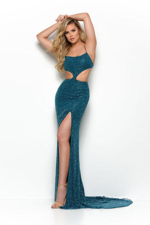 Jasz Couture 7068 prom dress images.  Jasz Couture 7068 is available in these colors: Teal, Red, Black, Navy.