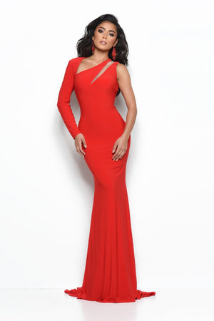 Jasz Couture 7092 prom dress images.  Jasz Couture 7092 is available in these colors: Red.