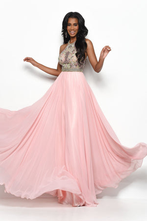 Jasz Couture 7116 prom dress images.  Jasz Couture 7116 is available in these colors: Ivory, Blush.