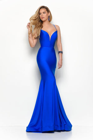 Jasz Couture 7148 prom dress images.  Jasz Couture 7148 is available in these colors: Red, Royal, Yellow.
