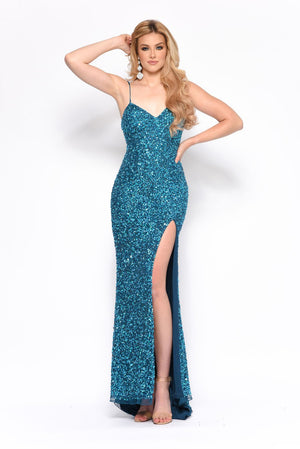 Jasz Couture 7149 prom dress images.  Jasz Couture 7149 is available in these colors: Hot Pink, Teal, Yellow.
