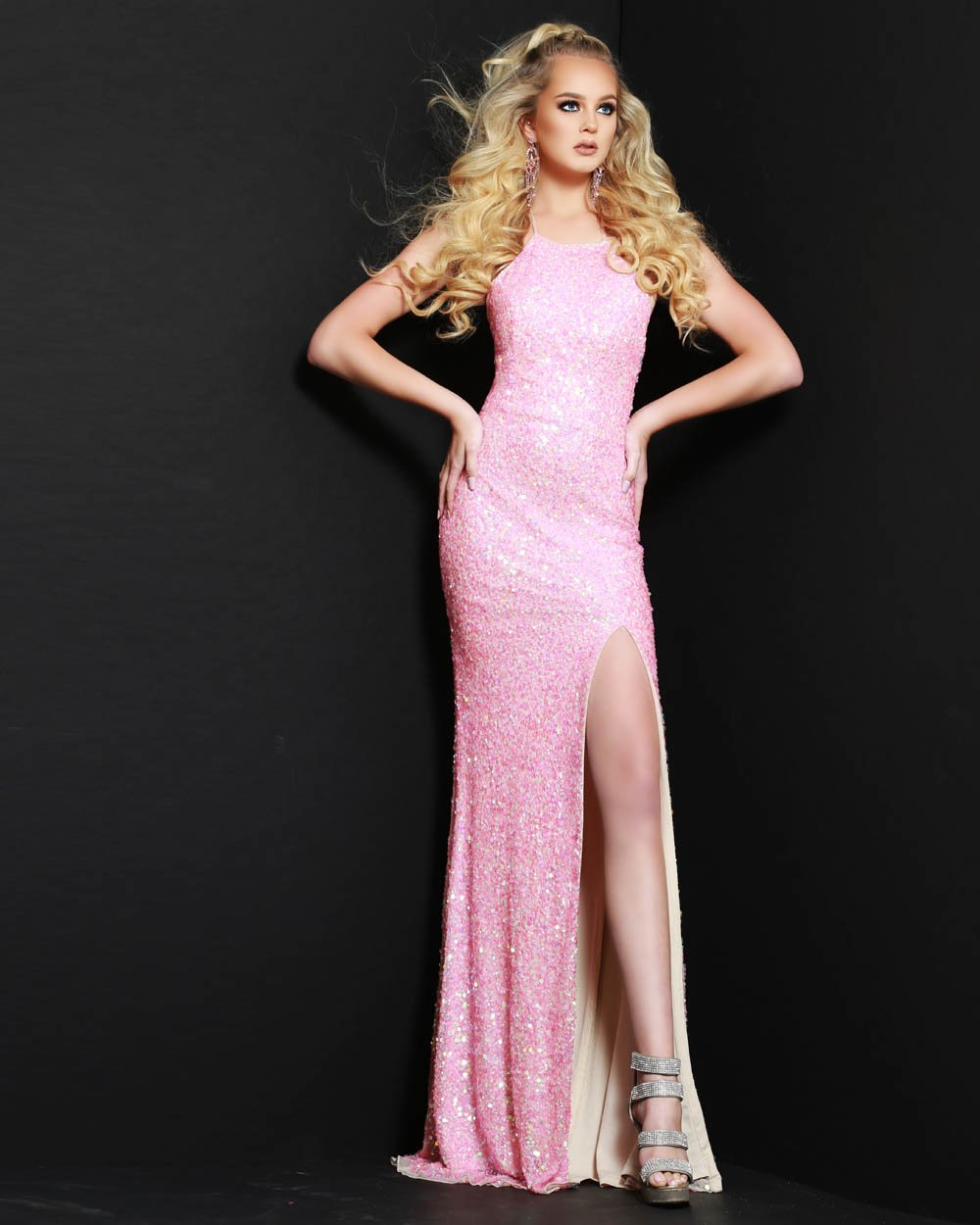 Jasz Couture 1529 prom dress images.  Jasz Couture 1529 is available in these colors: Pink.