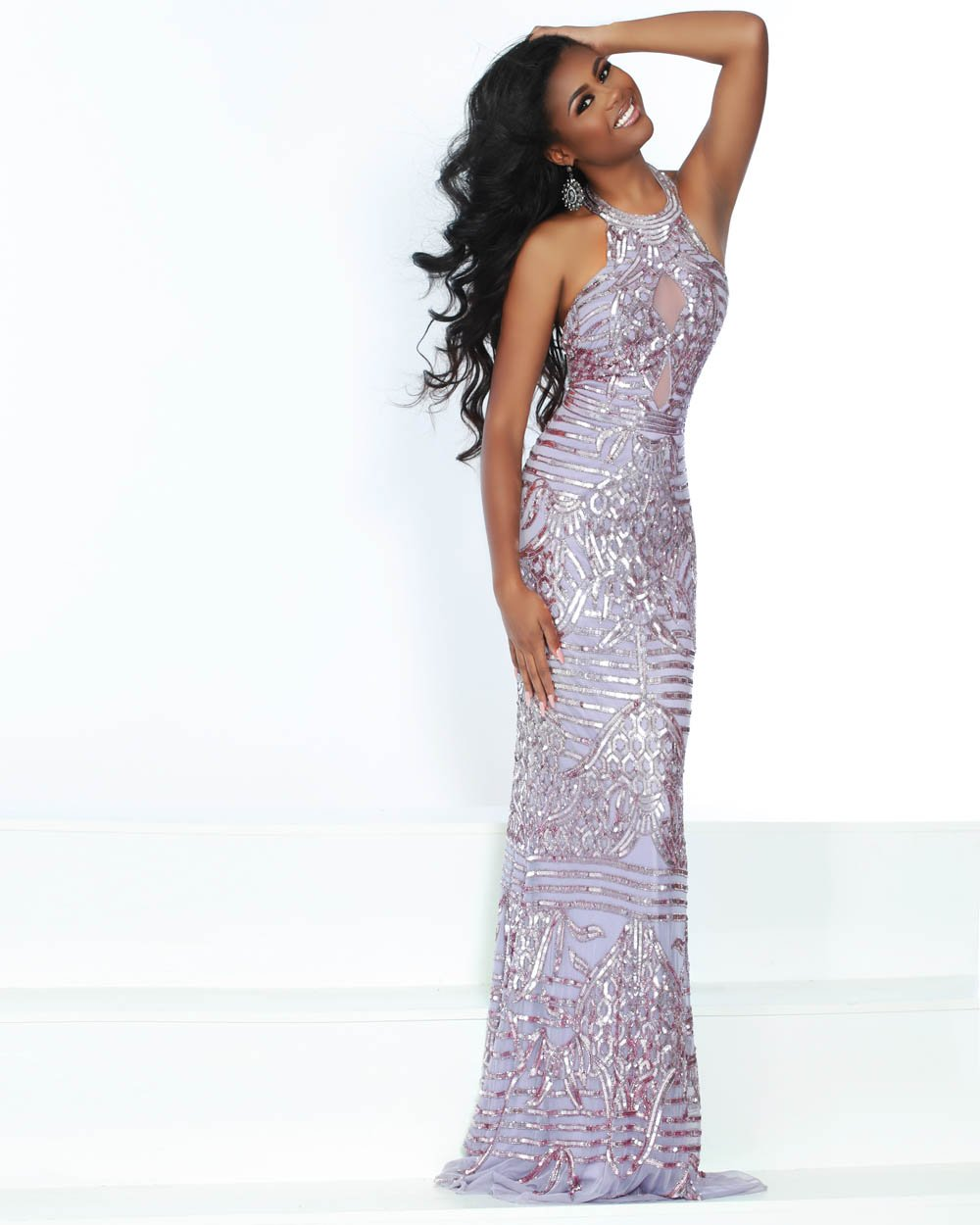 Jasz Couture 1555 prom dress images.  Jasz Couture 1555 is available in these colors: Lilac.