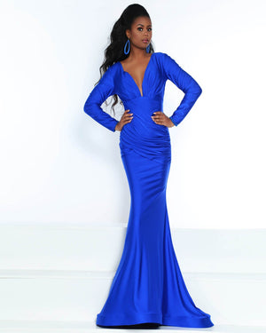 Jasz Couture 6504 prom dress images.  Jasz Couture 6504 is available in these colors: Black, Royal.