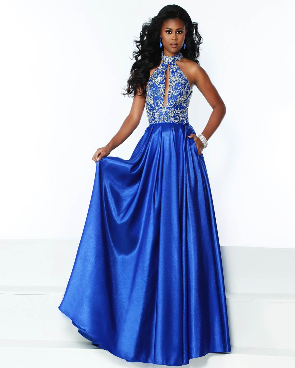 Jasz Couture 6516 prom dress images.  Jasz Couture 6516 is available in these colors: Red, Royal, White.