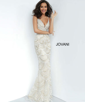 Jovani 00861 prom dress images.  Jovani 00861 is available in these colors: Silver Gold.