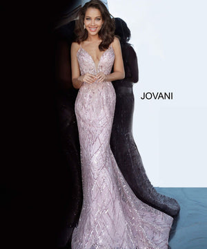 Jovani 02245 prom dress images.  Jovani 02245 is available in these colors: Baby Blue, Pink, Red.