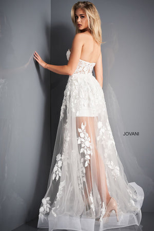 Jovani 02845 prom dress images.  Jovani 02845 is available in these colors: Black, Dark Blush, Ivory.