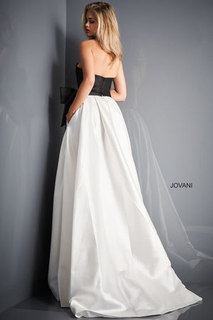 Jovani 03139 prom dress images.  Jovani 03139 is available in these colors: Black Ivory .