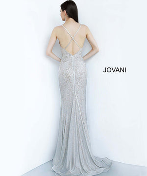 Jovani 3167 prom dress images.  Jovani 3167 is available in these colors: Silver.
