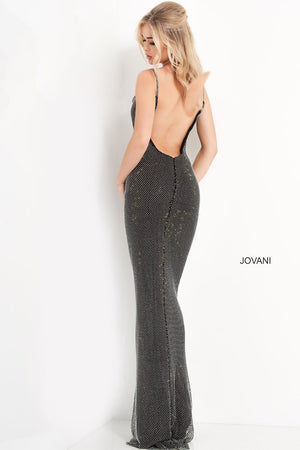 Jovani 03252 prom dress images.  Jovani 03252 is available in these colors: Black.
