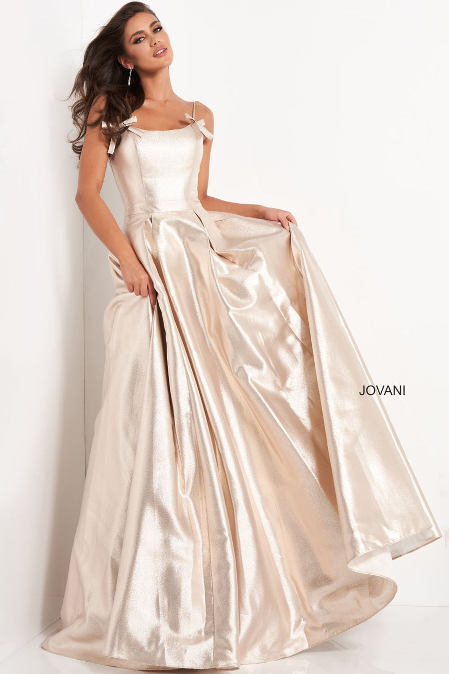 Jovani 03479 prom dress images.  Jovani 03479 is available in these colors: Blue, Champagne.