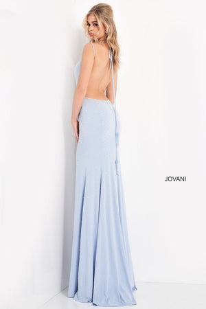 Jovani 06209 prom dress images.  Jovani 06209 is available in these colors: Light Blue, Red, Navy, White.