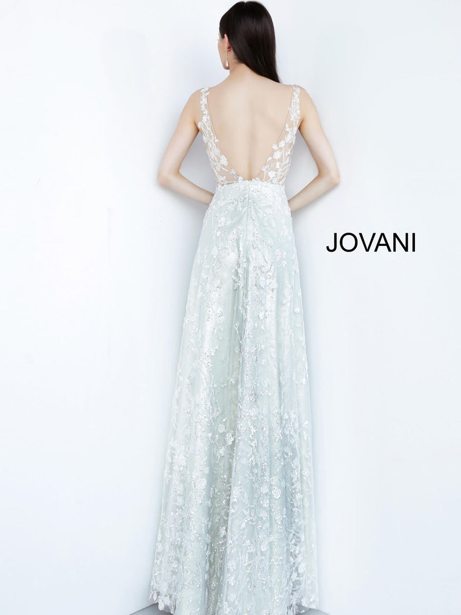 Jovani 03462 prom dress images.  Jovani 03462 is available in these colors: Ivory.