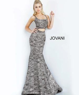 Jovani 1129 prom dress images.  Jovani 1129 is available in these colors: Black Silver, Jade, Light Blue, Royal, Sand, Wine.