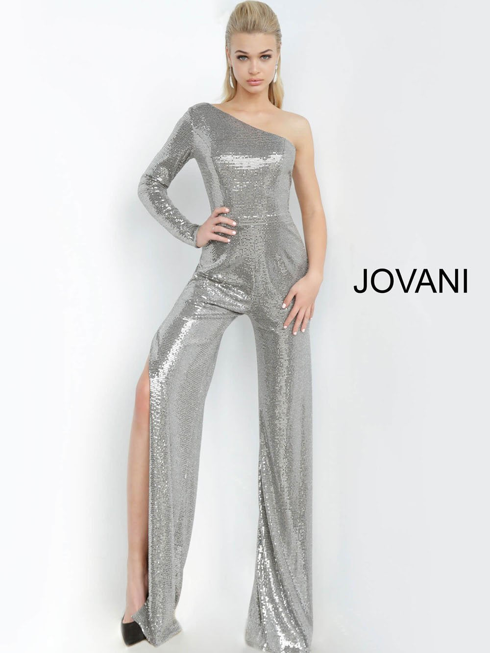 Jovani 1722 prom dress images.  Jovani 1722 is available in these colors: Black Copper, Black Red, Blush, Gunmetal Gold, Light Blue, Pink, Silver, Slate.