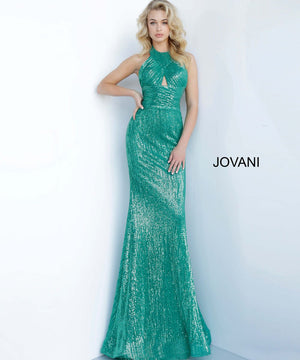 Jovani 1270 prom dress images.  Jovani 1270 is available in these colors: Black, Champagne, Emerald, Rose.