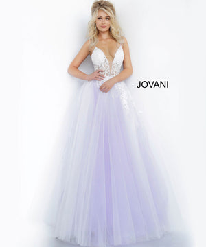 Jovani 1310 prom dress images.  Jovani 1310 is available in these colors: Off White Blush, Off White Light Blue, Off White Lilac, Off White Yellow.