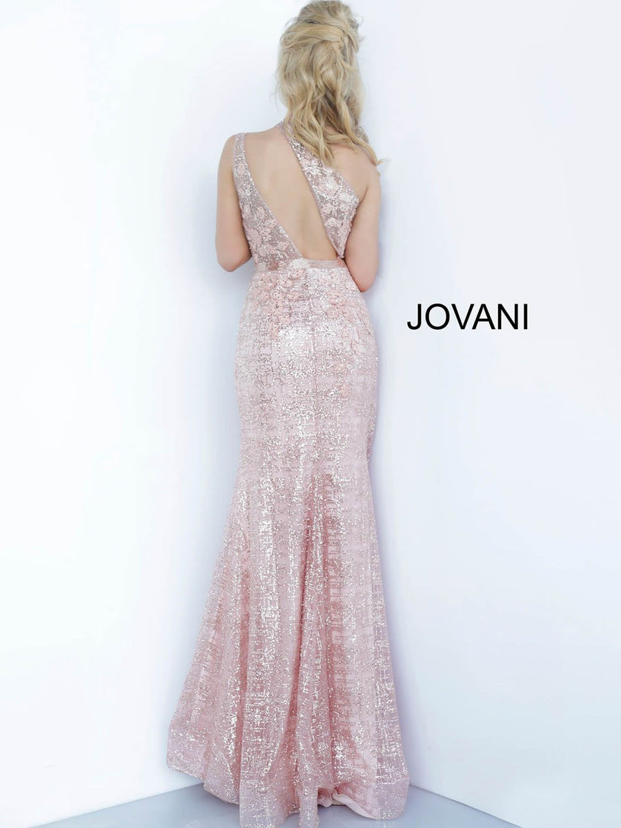 Jovani 1658 prom dress images.  Jovani 1658 is available in these colors: Ivory, Rose Gold.