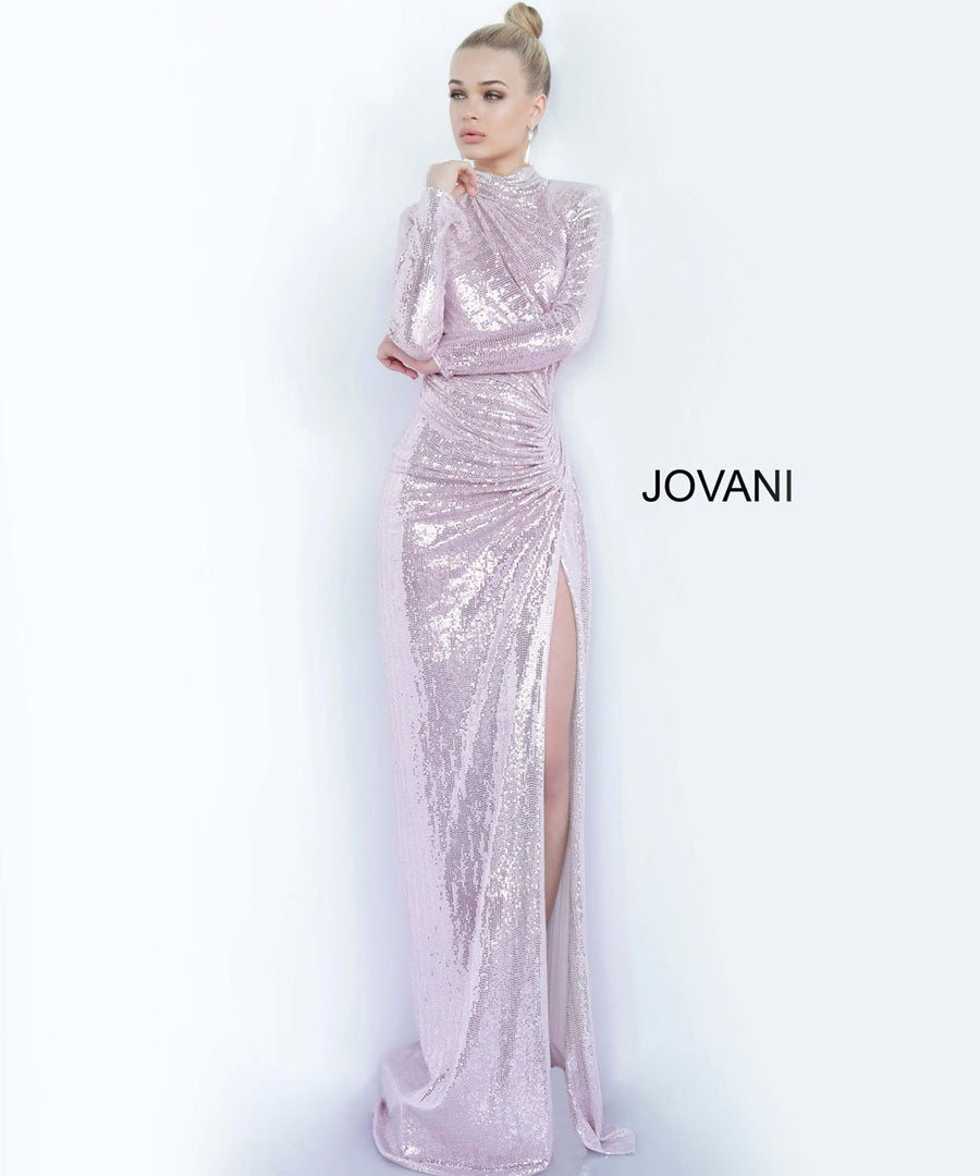 Jovani 1707 prom dress images.  Jovani 1707 is available in these colors: Black Red, Blush, Copper, Gunmetal Gold, Light Blue, Pink, Slate.