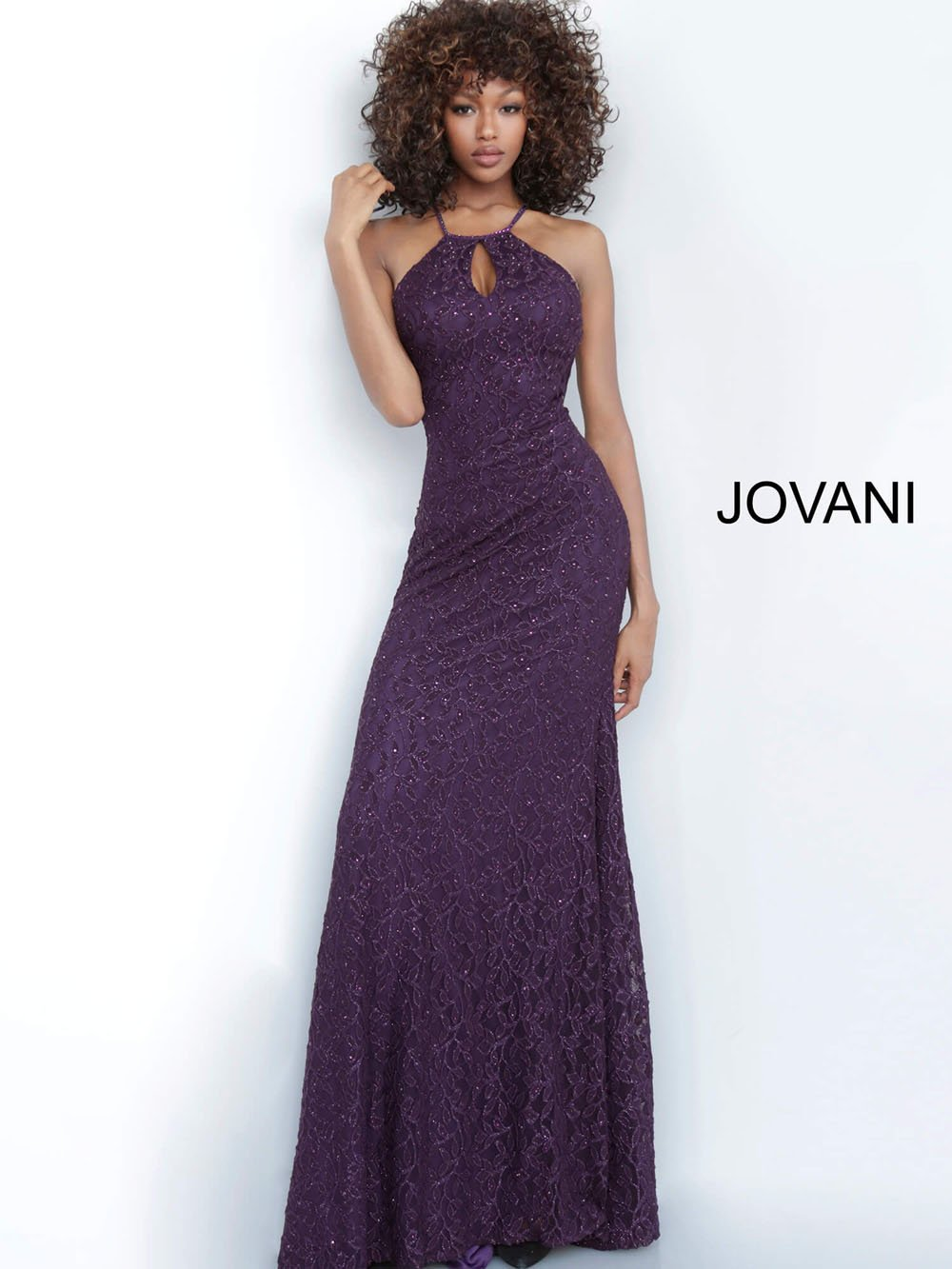 Jovani 4032 prom dress images.  Jovani 4032 is available in these colors: Blush, Mauve, Purple, Red, Steel.