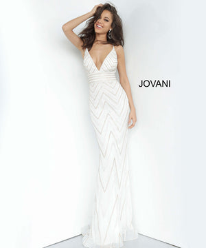 Jovani 2267 dresses are available in the following colors: Navy, Off White Gold. $550 is the Formal Approach best price guarantee