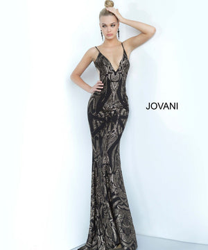 Jovani 3287 prom dress images.  Jovani 3287 is available in these colors: Black Gold, Light Blue Silver.