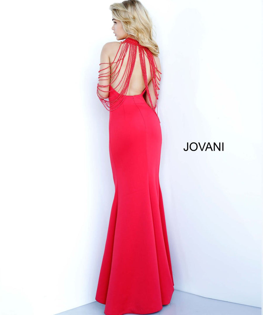 Jovani 3549 prom dress images.  Jovani 3549 is available in these colors: Black, Red, White.