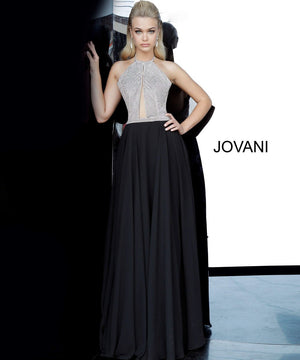 Jovani 4201 prom dress images.  Jovani 4201 is available in these colors: Black, Ivory.