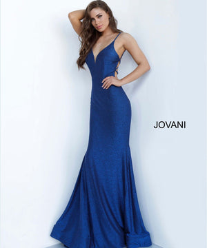 Jovani 4221 prom dress images.  Jovani 4221 is available in these colors: Royal.