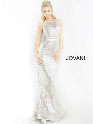 Jovani 4222 prom dress images.  Jovani 4222 is available in these colors: Navy, Silver.