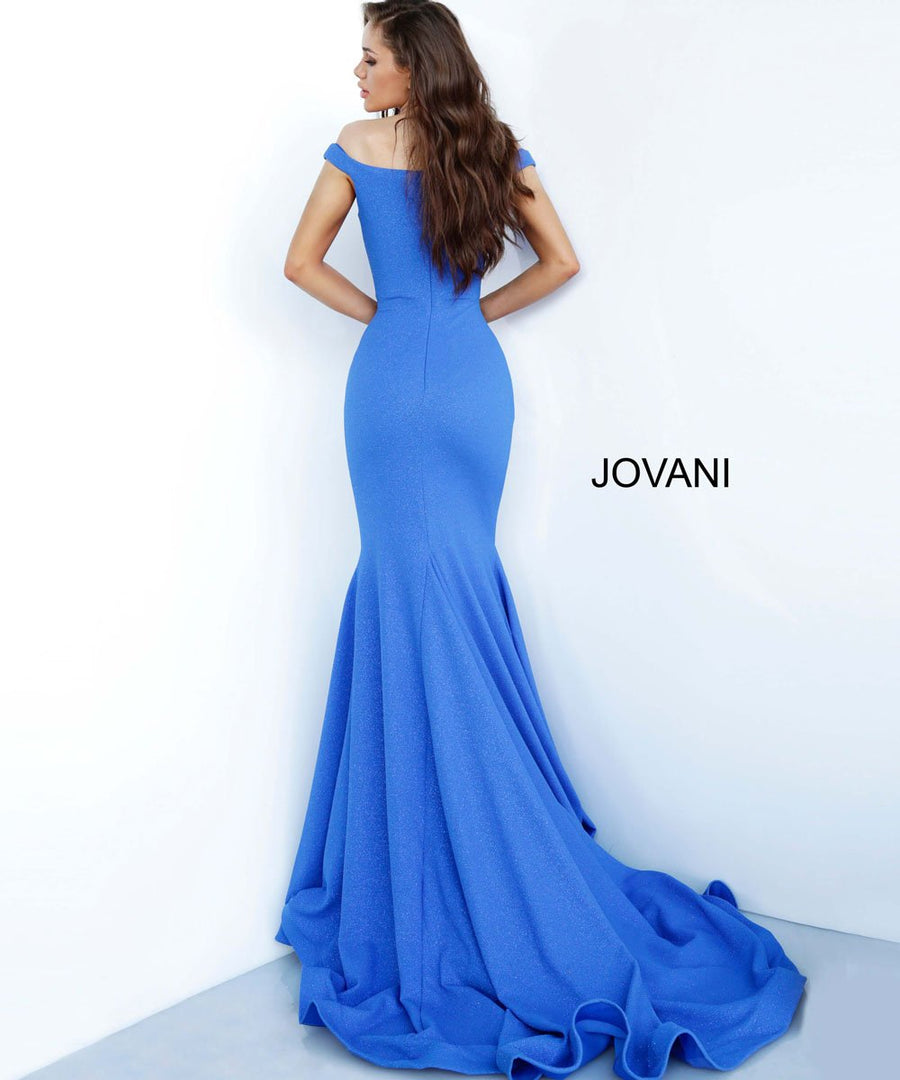 Jovani 55187 prom dress images.  Jovani 55187 is available in these colors: Black, Burgundy, Fuchsia, Green, Hunter, Ivory, Majestic Red, Navy, Peacock, Royal, Turquoise.