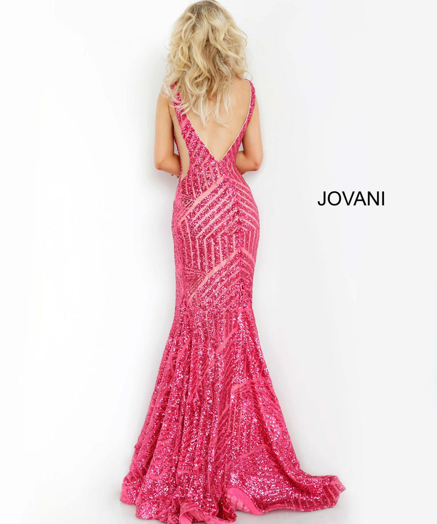 Jovani 59762 prom dress images.  Jovani 59762 is available in these colors: Black Nude, Charcoal, Fuchsia, Hunter, Rose Gold.