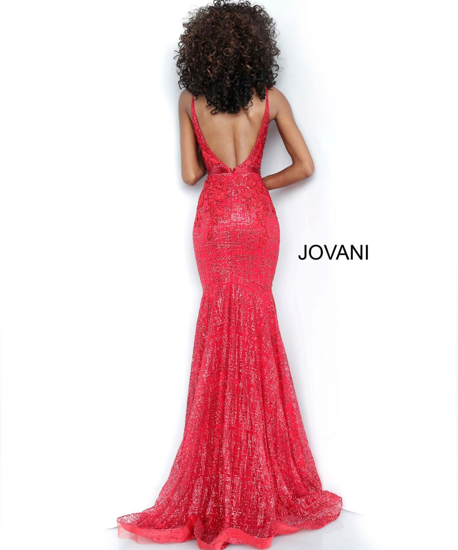 Jovani 62517 prom dress images.  Jovani 62517 is available in these colors: Black, Light Blue, Navy, Off White, Red, Rose Gold, Silver.