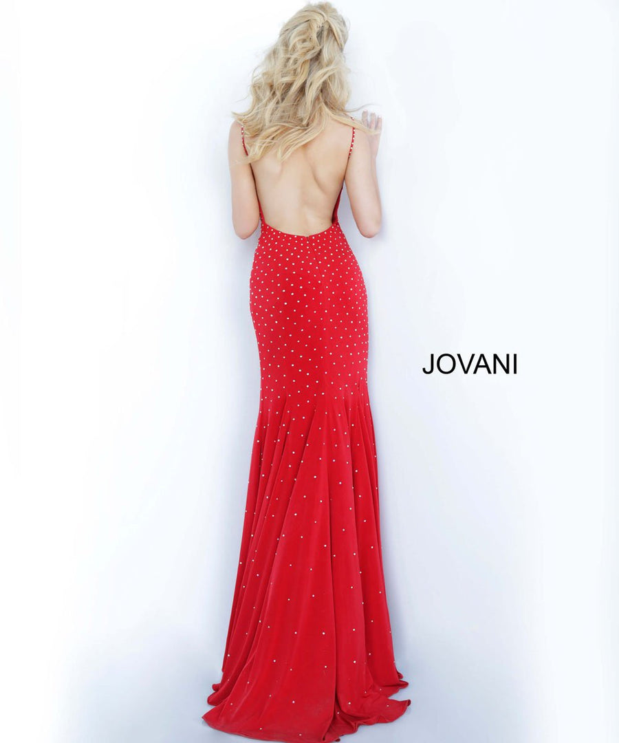 Jovani 63563 prom dress images.  Jovani 63563 is available in these colors: Black, Blush, Light Blue, Navy, Olive, Red, White.