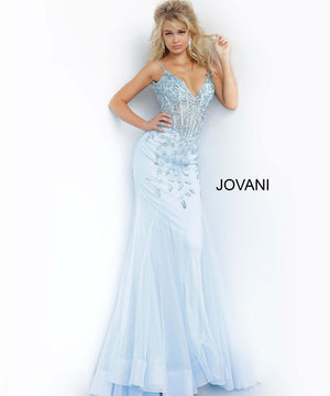 Jovani 63704 prom dress images.  Jovani 63704 is available in these colors: Black, Blush, Burgundy, Charcoal, Coffee, Light Blue, White.
