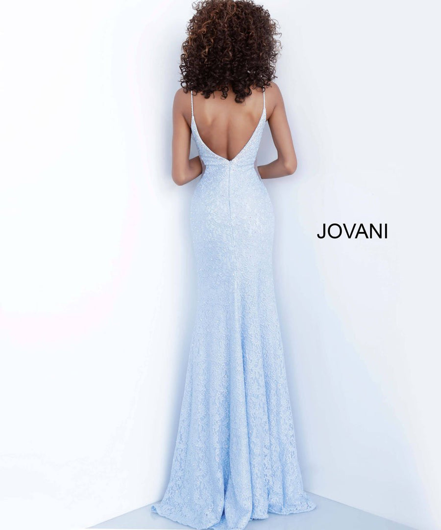 Jovani 64010 prom dress images.  Jovani 64010 is available in these colors: Blush, Gunmetal, Hunter, Light Blue.