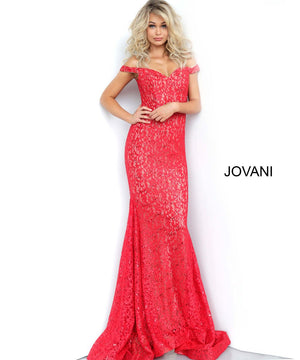 Jovani 64521 prom dress images.  Jovani 64521 is available in these colors: Black, Black Blue, Peacock, Red, Steel.