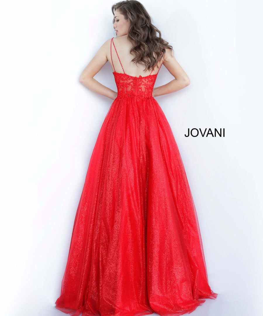 Jovani 67051 prom dress images.  Jovani 67051 is available in these colors: Light Blue, Red, Silver, White.