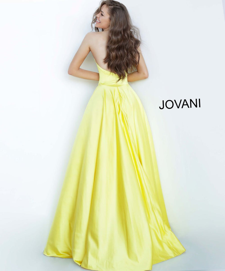 Jovani 67847 prom dress images.  Jovani 67847 is available in these colors: Black, Ivory, Navy, Red, Yellow.