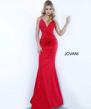 Jovani 67857 prom dress images.  Jovani 67857 is available in these colors: Black, Blush, Off White, Red.