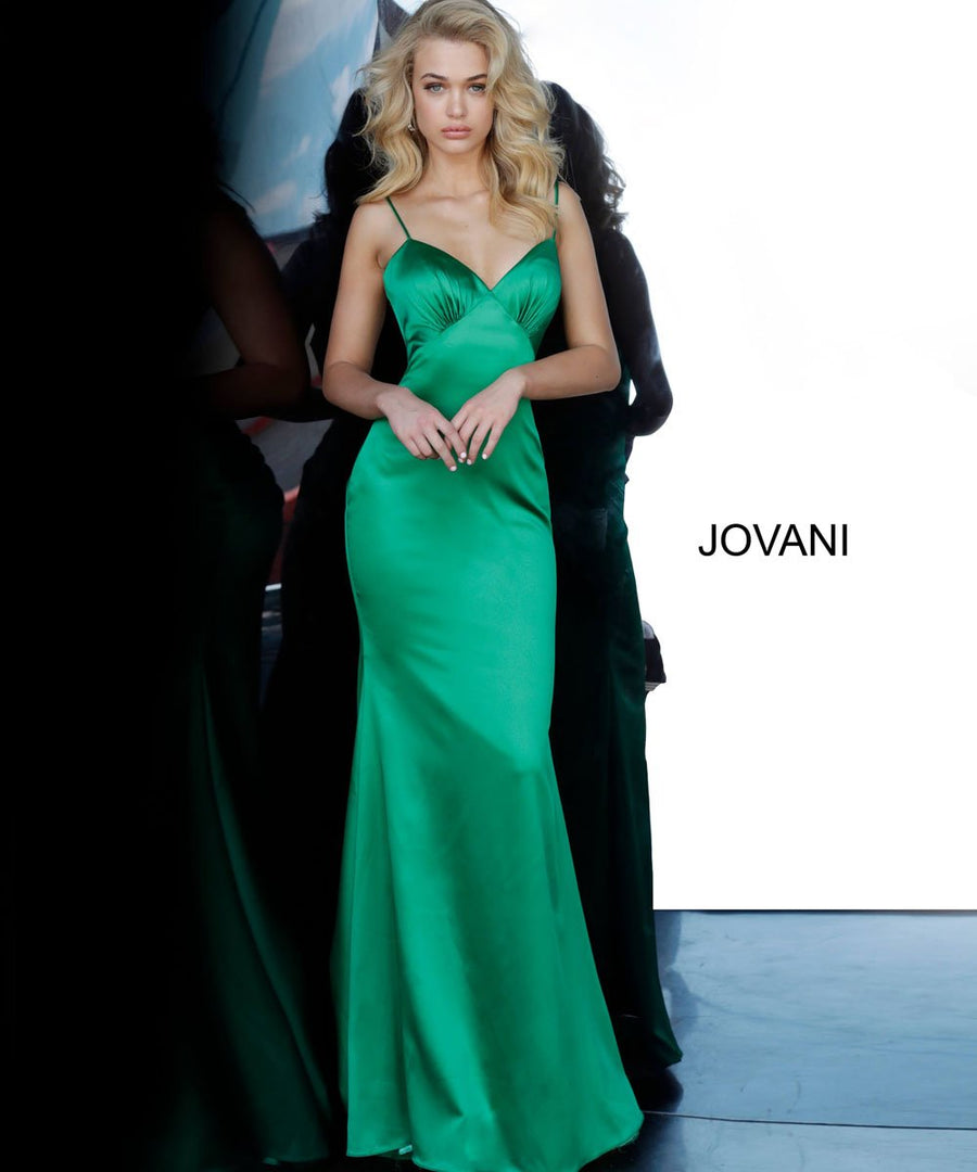 Jovani 67862 prom dress images.  Jovani 67862 is available in these colors: Black, Green, Red, Yellow.