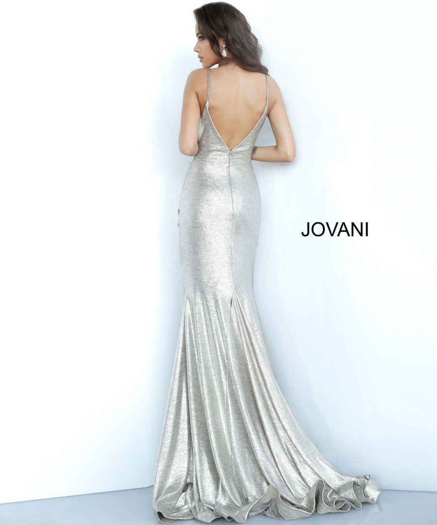 Jovani 67977 prom dress images.  Jovani 67977 is available in these colors: Copper, Navy, Rose, Sand, Silver.
