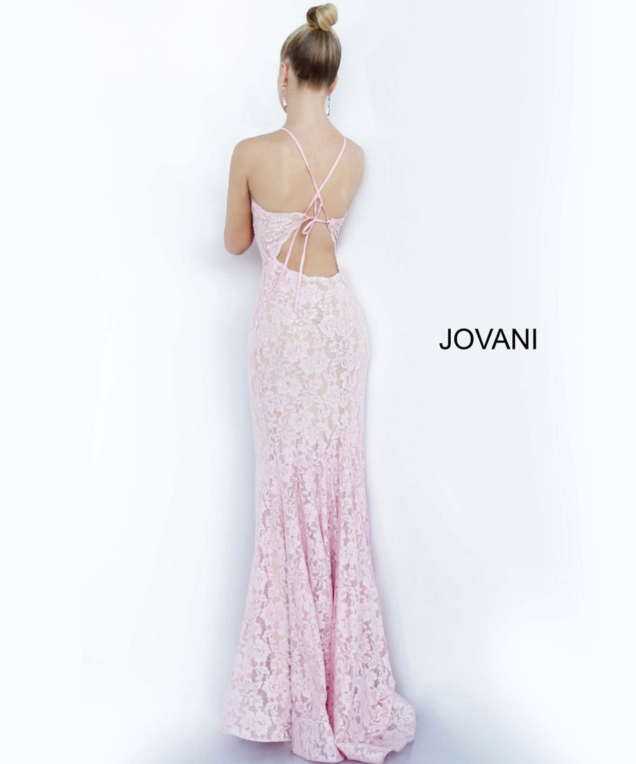 Jovani 68431 prom dress images.  Jovani 68431 is available in these colors: Light Blue, Light Pink, Red.
