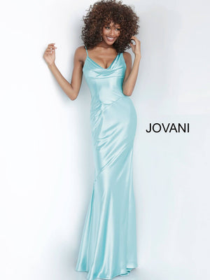 Jovani 68506 prom dress images.  Jovani 68506 is available in these colors: Aqua, Black, Blush, Red.
